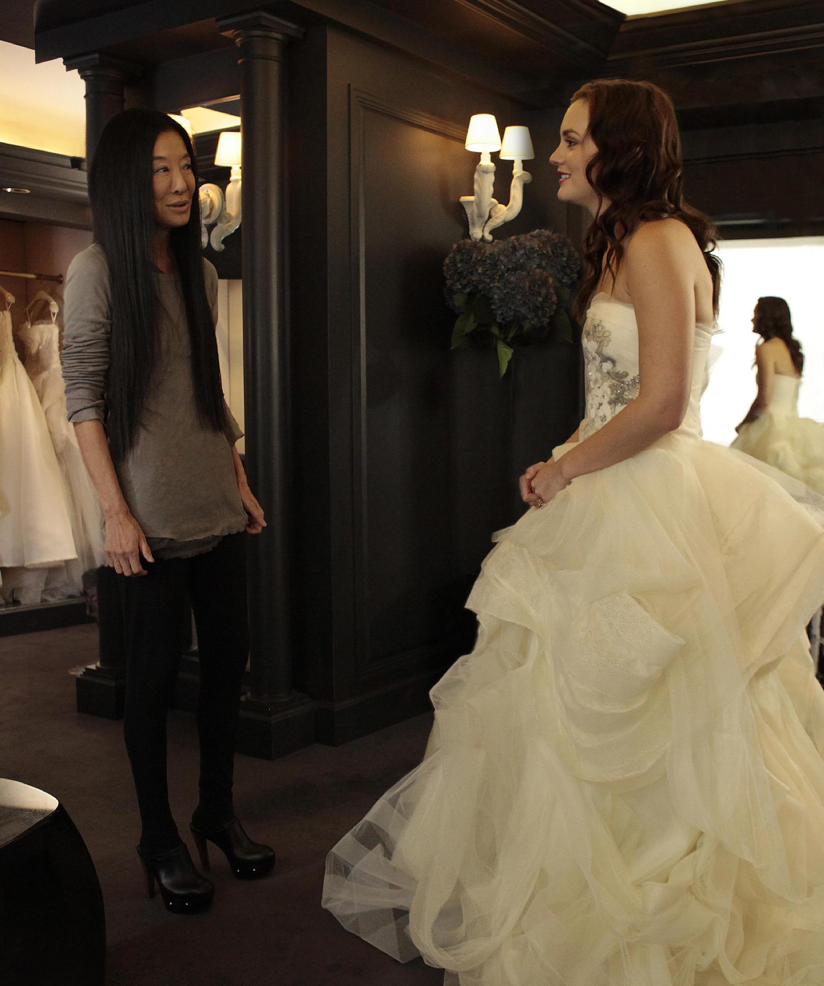 Un abito Vera Wang per un matrimonio da film